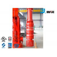 Quality 500 Usgpm Vertical Turbine Fire Pump Installation Easy With Carbon Steel Column Pipe for sale