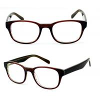 Quality Square Ladies Acetate Optical Frames, Lightweight Handmade Acetate Glasses Frames for sale
