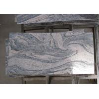 Quality Multicolor Juparana Pink Granite Stone Tiles Custom Dimensions Eco Friendly for sale