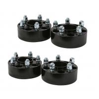 Quality 2 (50mm) Black hubcentric 5x120 Wheel Spacers | 66.9mm bore | 14x1.5 Studs for sale
