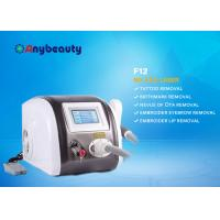 Buy Portable Q Switched Nd Yag Laser Tattoo Removal Machine Color Touch Screen CE Approved at wholesale prices