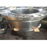 "Quality Carbon Steel Flange  Forgings Q + T Heat Treatment PN250 Class1500 WN RTJDN100  NPS4"" DN150 NPS6"" DN300 for sale"