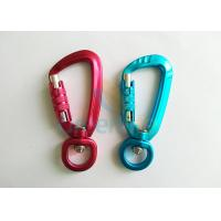 Quality Aviation Aluminum Hot Green / Red Snap Hook Carabiner Locks Super Quality Light Weight for sale