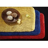 Quality 5 Star Custom Embossed Hotel Bath Mats , Hotel Style Collection Bath Mat for sale