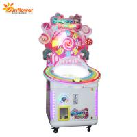 Quality Sunflower Coin Operated Game Machine Candy Lollipops Vending Machines for Sale for sale