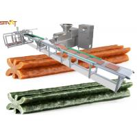 China Smart Pet Food Extruder Machine For Meat Strips / Dog Treats Processing for sale