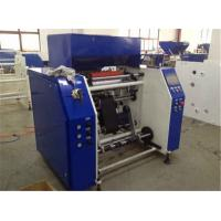 Buy LDPE PVC PE Stretch Film Rewinding Machine With Automatic System PLC Controller at wholesale prices