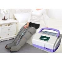 China Sequential Inflatable Leg Massager , Blood Circulation Long Boot Air Massager on sale