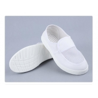 Quality 35-46 size SPU PVC Cleanroom Anti Static Shoe For Food Manufacturing for sale