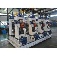 Quality Automatic Welded Pipe Production Line / Steel Pipe Making Machine for sale