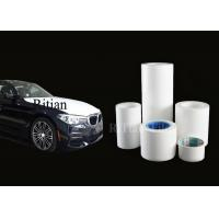 Quality 100-150M Length Automotive Protective Film Car Transport Wrap Solvent Based Adhesive for sale