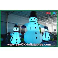 Quality Oxford Cloth Inflatable Holiday Decorations Giant Christmas Snowman For Party for sale