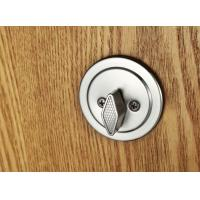 Buy Interior Modern Entry Door Handlesets Satin Nickel American Standard Cylinder at wholesale prices