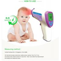 China No Touch Infrared Baby Thermometer , Fever Test Handheld Infrared Thermometer on sale