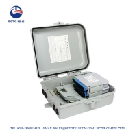 Quality Small FTTX FTTH 500V Fiber Terminal Box 12 Cores for sale