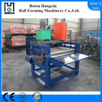 Buy cheap Hydraulic Pump Cold Roll Forming Machine 1250mm Raw Material Width from wholesalers