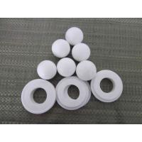 Buy Anti-Corrosion Polytetrafluoroethylene Balls / White PTFE Material For Sealing at wholesale prices