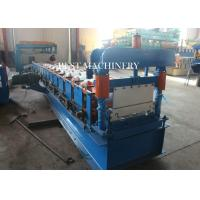 Quality Roofing Sheet Standing Seam Roll Forming Machine High Speed 8-12m/min for sale