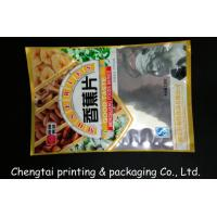 Quality Laminating Custom Dried Fruit Bags For Plantain Chips / Goji / Acai Packaging for sale