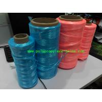 Quality 3000D - 5000D Denier Packing Poly Twine Rope  Untwist Fibrillated Type for sale