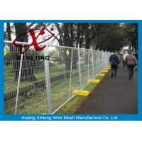 Quality Metal Iron Chain Link Fence Temporary Fencing Panels Various Size / Color Acceptable for sale