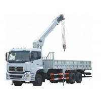 China Heavy duty Sinotruck cargo hydraulic truck crane 8 tons knuckle crane on sale