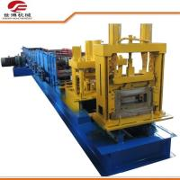 Quality The Infinite Shear C Type Steel Purlin Roll Forming Machine Custom Color for sale