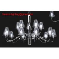 Quality hight quality Mini Chandelier, Chrome Plated Frame, Strong Clear Glass Accents for sale