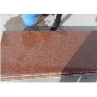 Quality G402 Chinese Red Granite Tianshan Red polished red granite paving stone tiles slabs for sale