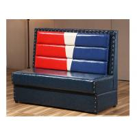 Quality PU Leather Cover Corner Booth Seating Mixed Color OEM ODM Service for sale