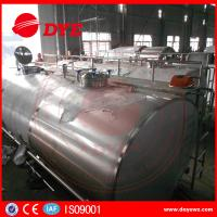 Quality Stainless Steel Milk Cooling Tank Truck For Milk Transportation for sale