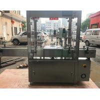 China Different Languages Liquid Filling Capping Machine , Bottle Capping Machine on sale