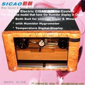 China Electric Cigar&Wine Chillar;Cigar&Wine Cooler Credenza on sale
