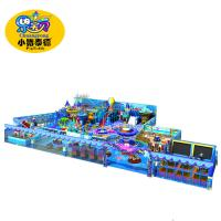 Quality Naughty Castle Soft Indoor Playground Equipment Non - Toxic Fire Resistance for sale