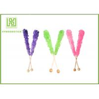 Buy Custom Decorative Cake Pop Sticks , Wood Round Sticks For Cotton Candy at wholesale prices