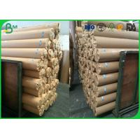 Quality 80gsm 120gsm Plotter Paper Roll No Adhesive Residue For CAD Printing for sale