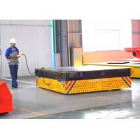 Quality High Quality Trackless Handling Trolley On Precast Concrete Floor for sale
