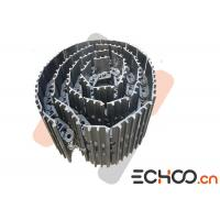 Quality PC120 Heavy Excavator Track Chain With Steel Material Highly Pressure Resistance for sale