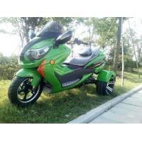 Quality 1000w Electric Moped Bike 3 Wheel Scooter Motorcycle With Brushless Motor for sale