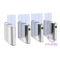 Quality Luxury Speedlane barrier flap door optical rapid lane turnstile with visible LED high sliding glass for sale