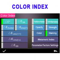 Quality 400 700nm color measuring spectrophotometer with color matching software 3nh YS3060 for sale