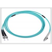 Quality Multimode Fiber Optic Patch Cables Lc-Lc Fibre Patch Leads For Floor Connection for sale