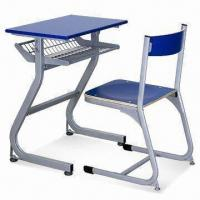 Quality Student Desk with Plywood Seat, Easy to Assemble, Chair Measures 410 x 420 x 720mm for sale