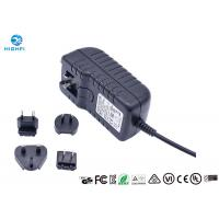 Quality 12V 2A Multi Plug Interchangeable Plug Power Adapter For CCTV Camera Monitor for sale