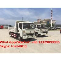 Quality Factory sale high quality and good price SINO TRUK HOWO Mini dump tipper truck, coal and stone transporting truck for sale