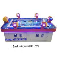 Quality 6 Players Amusement Arcade Coin Operated Hunter Shooting Fishing Gambling Casino Game Machine for sale