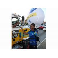 Quality Durable 0.18mm PVC Backpack Balloon Inflatable Balloon For Outdoor Advertising for sale