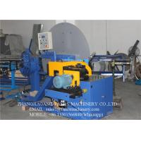 Buy Automatic Saw Blade Cutting Type Spiral Tube Forming Machine with 4kw Cutting Motor at wholesale prices