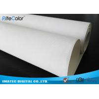 "Quality 44 "" Wide Format Waterproof Inkjet Cotton Canvas Glossy Printing for Poster for sale"