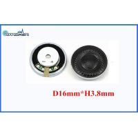Quality 16mm 16 Ohm Mini Mylar Speaker Portable Wireless 90 Sound Press Level for sale
